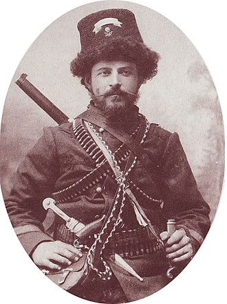 Aromanians in North Macedonia - Pitu Guli, IMRO activist and hero of the Krushevo Republic