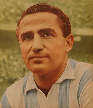 Juan José Pizzuti - Pizzuti when playing for Racing Club in 1961.