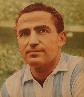 Juan José Pizzuti - Pizzuti when playing for Racing Club in 1961.