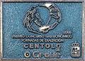 Placa Exaltación centolo do Grove 2005. Galiza.jpg