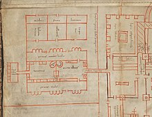 Abbot's House. Plan of Sain Gall