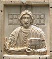 Plaque- Christ benissant, Constantinople, 10th century (3836863417).jpg