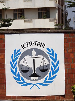 International Criminal Tribunal for Rwanda - Image: Plaque of International Criminal Tribunal for Rwanda ICTR Kimironko District Kigali Rwanda