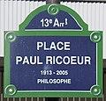 Plaque place Ricœur Paris 1.jpg