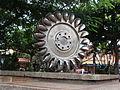 Plaza central mesitas del colegio.JPG