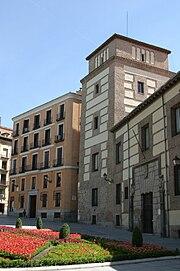 PROPUESTAS DE RULADA DE LA COMUNIDAD DE MADRID - DOMINGO 8 DE MARZO 180px-Plaza_de_la_Villa_%28Madrid%29_04