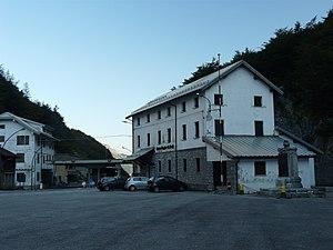 Plöcken Pass - Former border control facilities