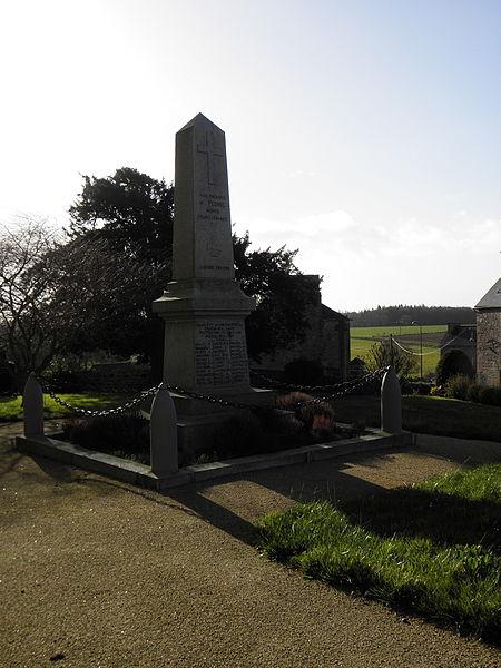 Monument aux morts de Plorec-sur-Arguenon (22).