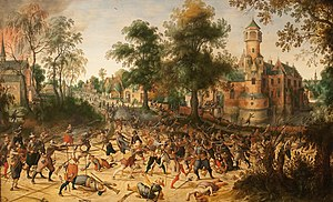 Close combat - Assault on a town, early 17th century
