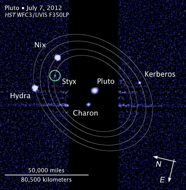 pluto's moons orbit - HD 1200×800