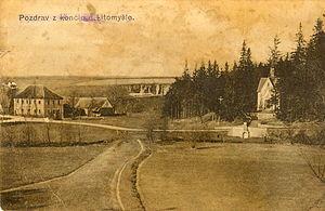 Kornice - Končiny about 1910