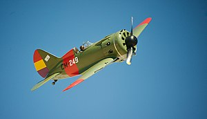 Polikarpov I-16 with spanish republican markings.jpg