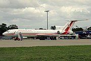 Polish Air Force Presidential transport Tupolev Tu-154 at Sydney Airport