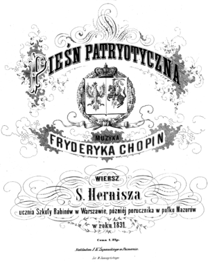 Stanislas Hernisz - Polish Patriotic Song 1831