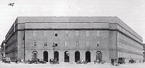 Copenhagen Police Headquarters - The building shortly after its completion in 1924