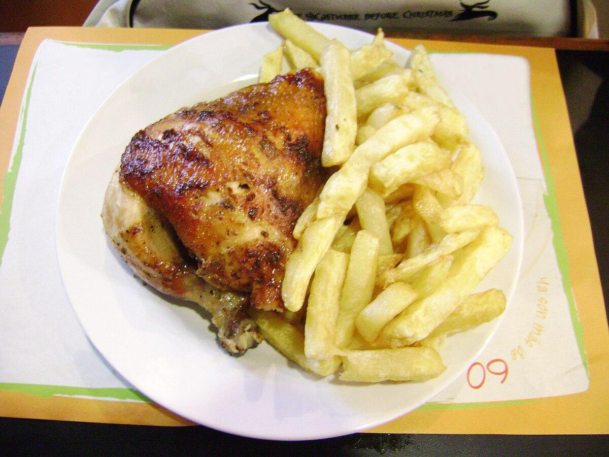 Pollo A La Brasa En El Perú Wikipedia La Enciclopedia Libre