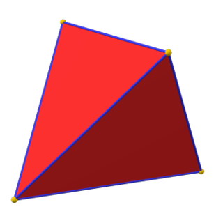 Alternation (geometry) Operation on a polyhedron or tiling that removes alternate vertices