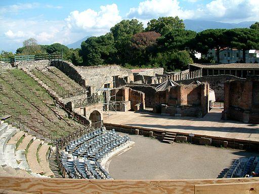 Pompeje teatr wielki