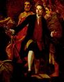 Pormenor auto-retrato n'Alegoria ao Terramoto de 1755, João Glama Strobërle.png