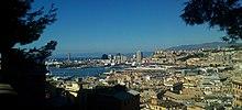 Port of Genoa from Spianata Castelletto.jpg