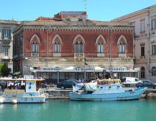 Isola di ortigia wikipedia for Hotel ortigia con spa