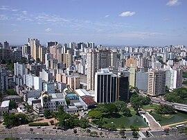 Zentrum von Porto Alegre