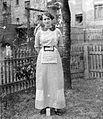 Portrait, woman, garden, fashion Fortepan 2328.jpg
