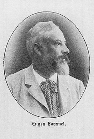 Eugen Boermel - Eugen Boermel (Hohenzollern-Jahrbuch, c.1901)