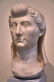 Livia Wife of Roman emperor Augustus and mother of emperor Tiberius