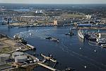 Portsmouth Naval Shipyard with USS West Virginia (SSBN-736) 2013.JPG
