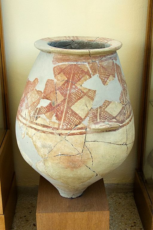 File Pottery Middle Cycladic Pithos Decor 2300 1600 Bc Am Paros 143836 Jpg Wikimedia Commons