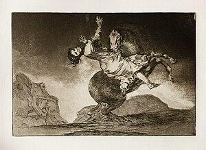 Los disparates - Image: Prado Los Disparates (1864) No. 10 El caballo raptor