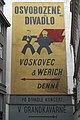 Prag Dům U Nováků Osvobozené divadlo Plakat 041.jpg