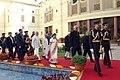 Pranab Mukherjee, the Vice President, Shri Mohd. Hamid Ansari, the Prime Minister, Shri Narendra Modi, the Speaker, Lok Sabha, Smt. Sumitra Mahajan, the Union Minister for Urban Development (2).jpg