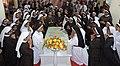 Prayer at Kuriakose Elias Chavara Tomb.jpg
