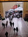 Preparing for the 83rd Annual Academy Awards - fans walk the covered red carpet (5475525250).jpg