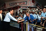 President Bush attends a Strawberry Festival in Plant City, FL.jpg