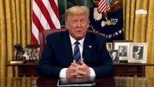Plik: Prezydent Trump przemówi do narodu NA ŻYWO o 21:00 ET..webm