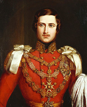 Albert, Prince Consort - Portrait by John Partridge, 1840