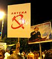 Proteste Victoria, Antena 3 5-7-12 01.jpg