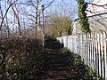 Public footpath near Rock Ferry High School, Birkenhead (1).JPG