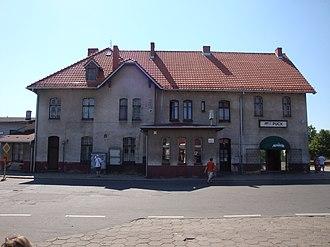 Puck railway station - Puck railway station