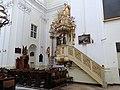 Pulpit of Saint Francis church in Warsaw - 02.jpg