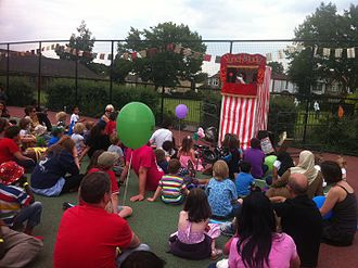 Punch and Judy - Punch and Judy at a fete
