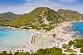 Punta Molentis Beach at the foot of the Sarrabus Mountain in Sardinia, Italy (48399359191).jpg