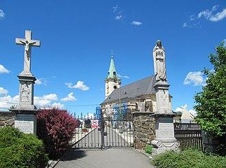 Pustá Polom - Church of Saint Martin