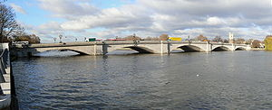 Putney Bridge - Putney Bridge looking upstream.