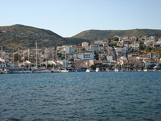 Melissus of Samos - Samos in the southern Aegean