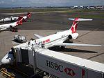 Qantaslink aircraft at Sydney Airport February 2016.jpg