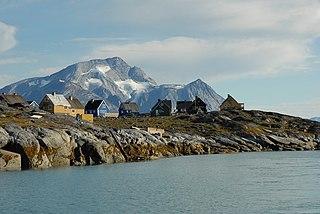Qoornoq Place in Greenland, Kingdom of Denmark